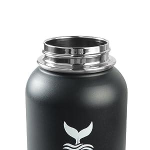 water bottle straw lid