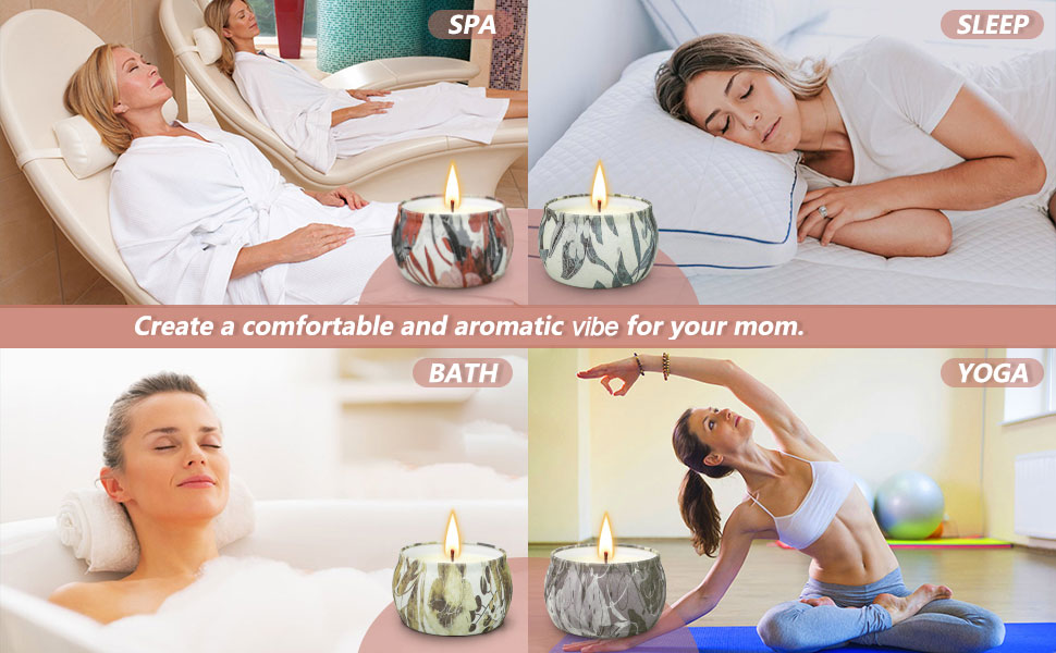 Candles Sets for Women Gift