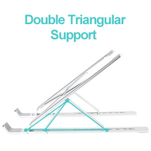 Double Triangular Support