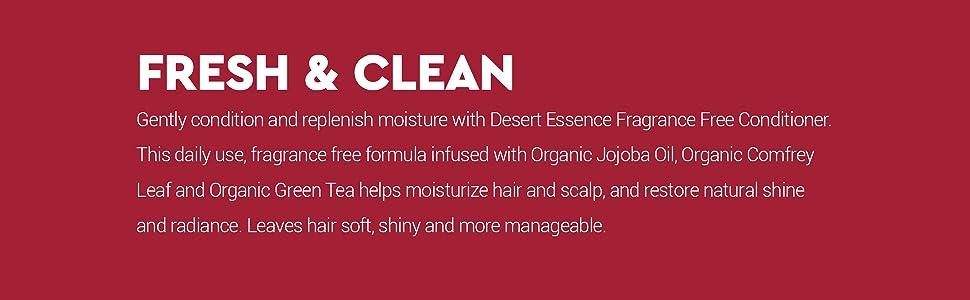 Desert Essence Conditioner,Green Tea Conditioner,Organic Comfrey Leaf Conditioner