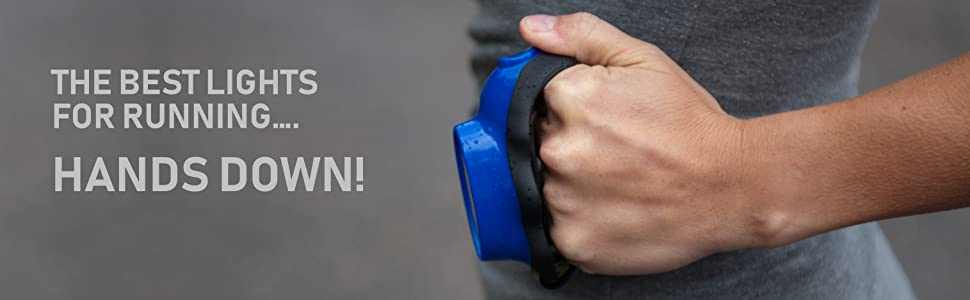 Knuckle Lights for running and walking at night runner light
