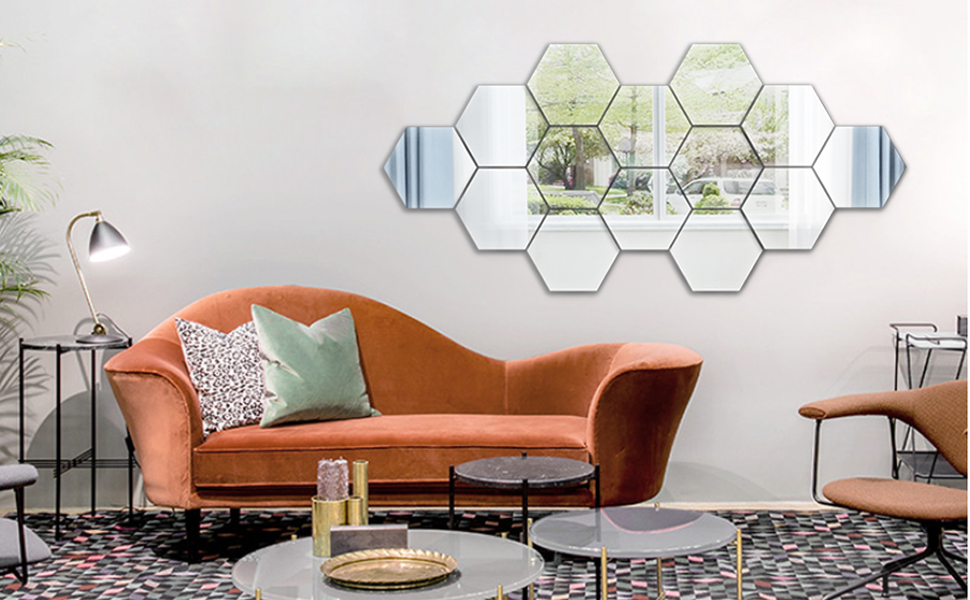 hex wall stickers