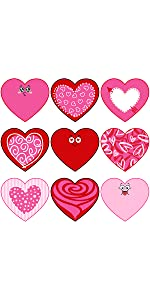 Valentine's Day Heart Cut-Outs
