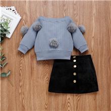 sweater skirt set
