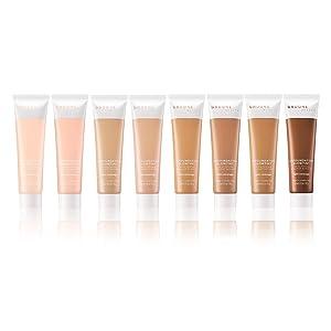 8 shades hydrating foundation glowtint pink sheer coverage makeup coconut glossier skin tint natural