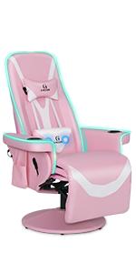gaming chair orV4Q-MRGB-PKWange