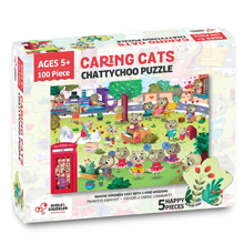 Chalk and Chuckles Chattychoo 100 pcs puzzle ages 5 to 10 years