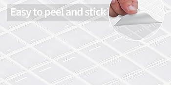 Peel and stick backsplash