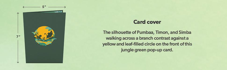 disney lion king card