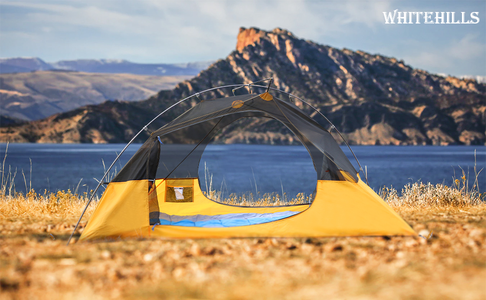 one man tent single person campact fishing beach backpacking tents for camping hiking mountain