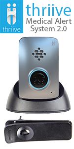 thriive medical alert system 2.0 best medical alert system in the US