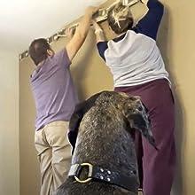 hanging wall border installing wallpaper boarder