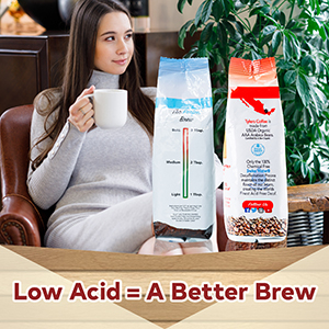 Tylers Acid-Free Coffee Decaf Whole Bean low acid organic coffee beans organic coffee