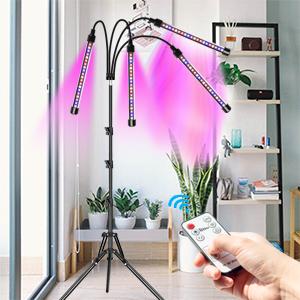 Floor plant lamp