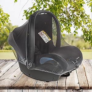 baby car seat mosquito net