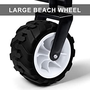 wagon cart wheel beach