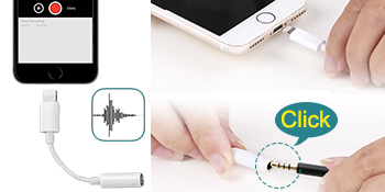 mic for iPhone 6 6s 7 8 X plus lavalier lapel microphone for youtube interview recording mic