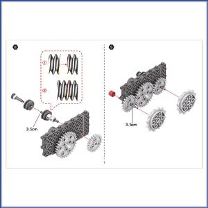Roboter Roboter Kinder Spielzeug Think Gizmos Ingenious Machines Mondforscher-Set Zwei Mondrover Roboter Bausatz- 4 Mod-ellbaukasten TG801 Raketenfahrzeug