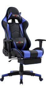 Ficmax blue gaming chair