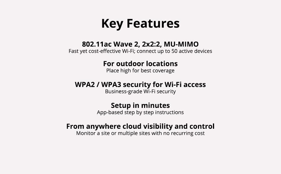 AP17 Key Features