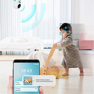 WiFi smart pet camera