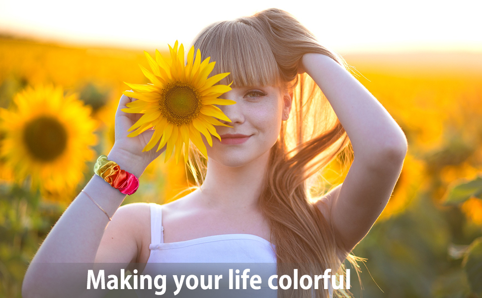 Variety of vivid & fashion colors or patterns, while dress up your iWatch easily