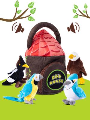 Plush Bird House