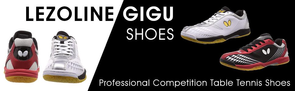 Lezoline GIGU Shoes: Professional Competition Table Tennis Shoes