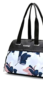 vooray trainer tote duffel gym bag sport handbag purse water towel athletic training shoe premium