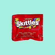 Sweet Treats Skittles & Starburst Mini Motts Gummies Twizzlers singles Rice Krispies Treats