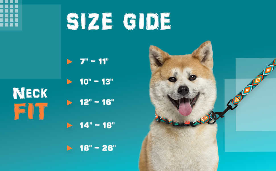 pattern pet neck nylon cute puppy female best soft strong durable comfortable arrow outdoor safety