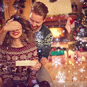 Snowfall Christmas Lights Projector