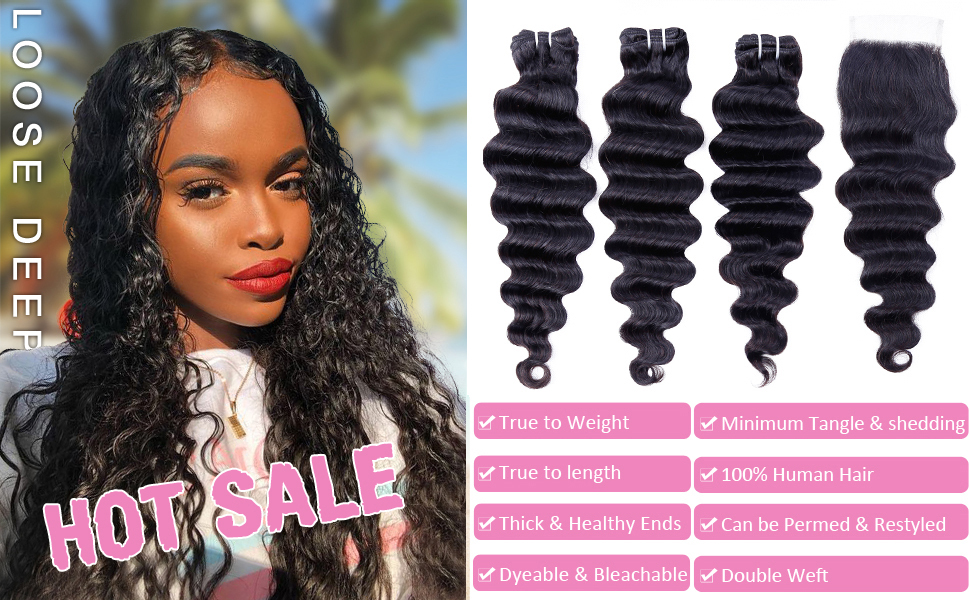 Loose Deep Wave with Closure