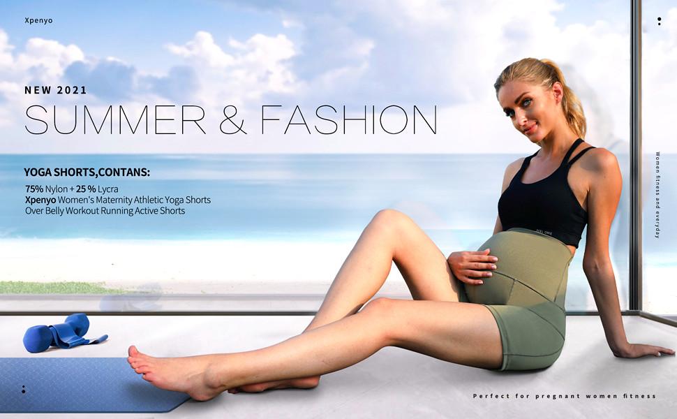 Summer yoga shorts