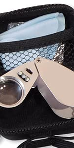 Wesley's 40x Jewelers Loupe with NO Logo