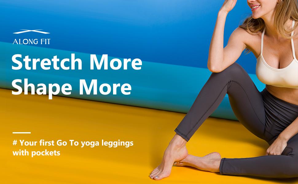 Along Fit yoga pants for women