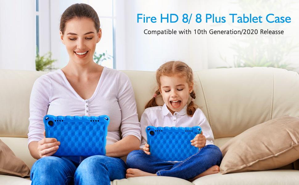 fire hd 8 2020 case fire 8 plus tablet case