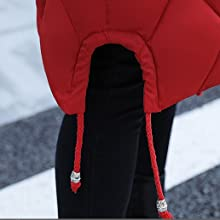 Down Coat, Hem, Slit, Design, Fashionable