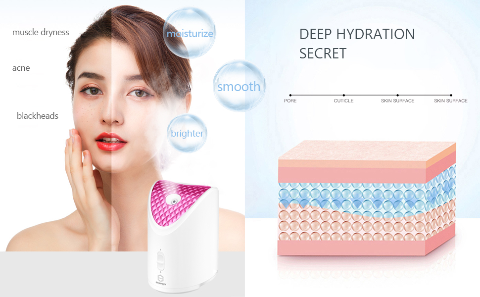 moisturize your skin to make it smoother, brighter and more radiant