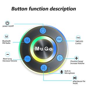 bluetooth speaker waterproof speaker for shower