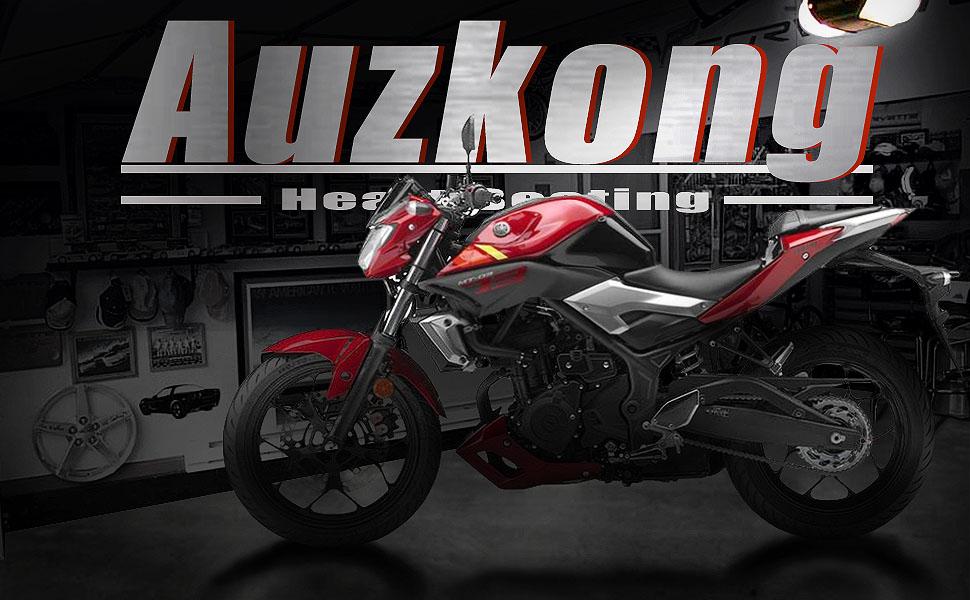Auzkong Palancas de embrague de freno cortas ajustable para Yamaha TDM 850 1991-2002, XJ600/XJ900 Diversion 1995-2003 negro
