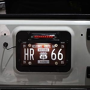 Illuminate Your License Plate