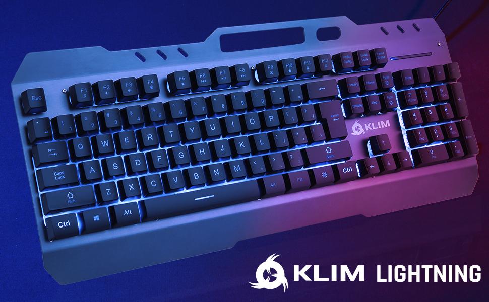 KLIM Lightning V2, gaming keyboard,  keyboard