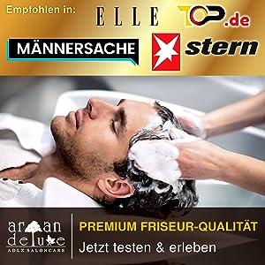 Empfohlen in: Aufzählung von Zeitschriften: Männersache, ELLE, Stern. Top.de