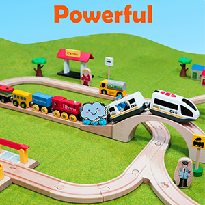Magnetic Battery Operated Action Train