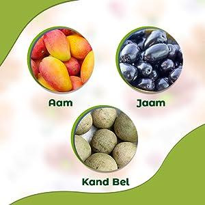 Mango, Black Plum & Kanda Bel