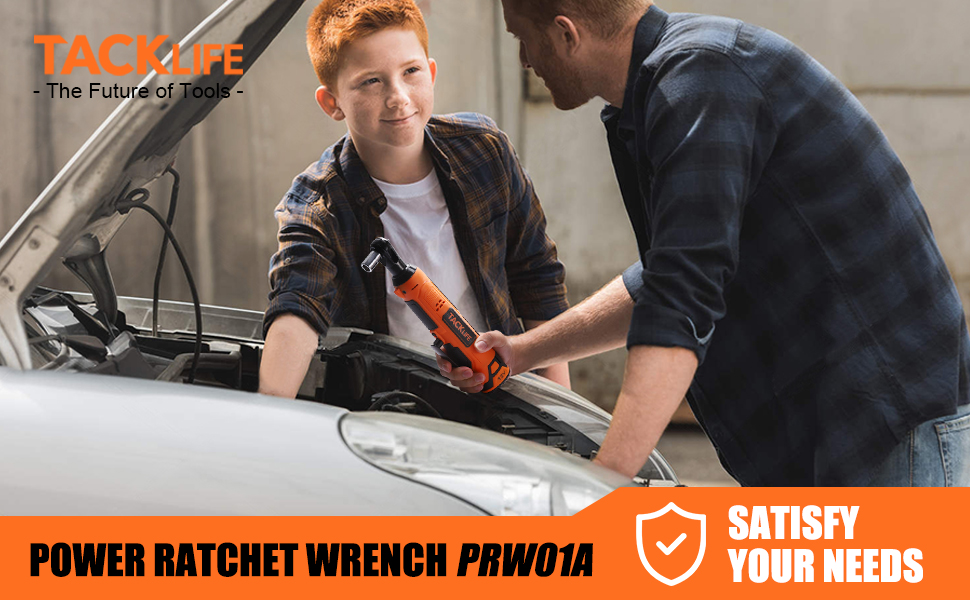 Power Ratchet Wrench