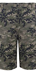 Camo Shorts Men Athletic Pants