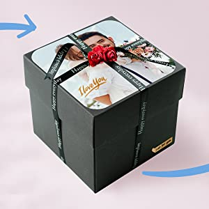 gift box scrapbook 3d