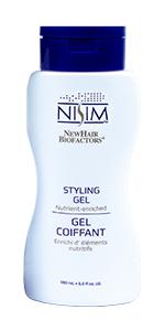 styling gel long hair